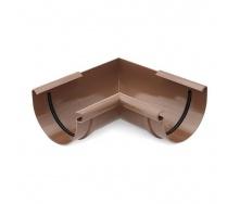 Угол внутренний Bryza 125 90 градусов коричневый