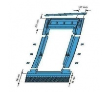 Оклад Roto EDR ZIE для низкопрофелированных покрытий 94х140 см