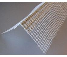 Контрашульц из ПВХ с сеткой из стекловолокна 7х7 см 3 м