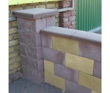 Крышка для столбика Золотой Мандарин 480х480х80 мм коричневый