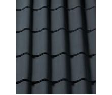 Керамическая черепица CREATON Sinfonie 300х482 мм (black matt engobe slipped)