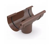 Воронка желоба сливная Bryza 125 280х90 мм коричневый