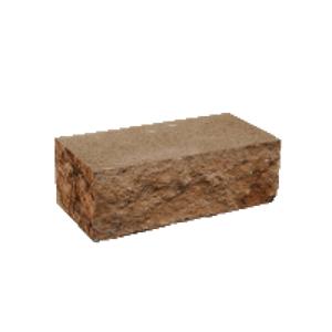Колотый камень угловой Золотой Мандарин 200х80х80 мм