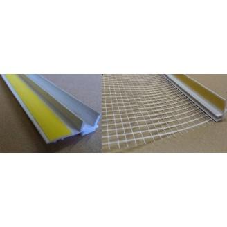 Профиль оконный примыкающий 6 мм