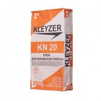 Клей для плитки KLEYZER KN 20 25 кг