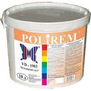 Защитное покрытие Polirem VD-1903 Бетонконтакт 10 л