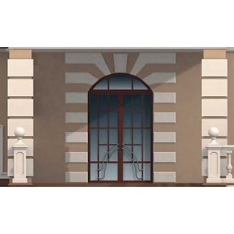 Устройство рустов на фасаде здания