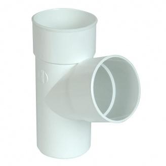 Тройник Nicoll 33 100 мм белый