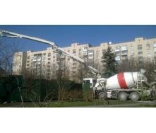 Аренда миксера с бетононасосом 10 м3 24 м