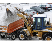 Очистка дорог от снега