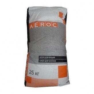 Клеевая смесь AEROC Summer для газобетона летняя 25 кг