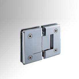 Петля скло-скло для душової кабіни Haideli HDL-303 180 градусів