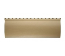 Сайдинг виниловый Альта-Профиль BlockHouse однопереломный 3100х200 мм золотистый