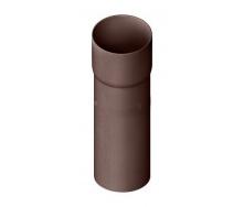 Труба водосточная с муфтой Альта-Профиль Элит 95 мм 3 м коричневый