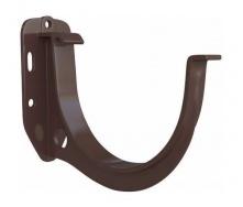 Кронштейн желоба Альта-Профиль Элит 125 мм коричневый