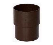 Муфта трубы Альта-Профиль Элит 95 мм коричневый