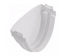 Заглушка желоба Альта-Профиль Стандарт 115 мм белый
