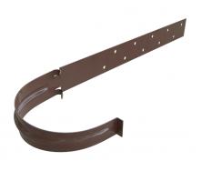 Кронштейн желоба металлический Альта-Профиль Элит 125 мм коричневый