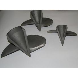Литой наконечник для винтовых свай 89x180 мм