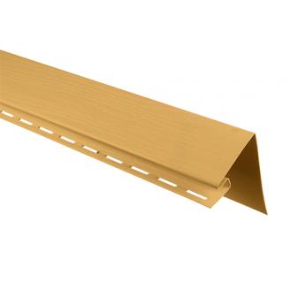Планка околооконная Альта-Профиль BlockHouse Т-17 3,05 м золотистый