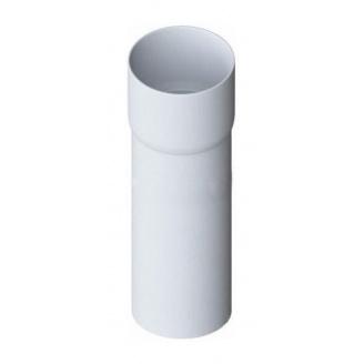 Труба водосточная с муфтой Альта-Профиль Элит 95 мм 3 м белый