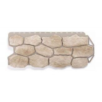 Фасадная панель Альта-Профиль Бутовый камень 1130х470х20 мм Нормандский
