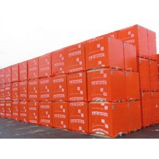 Газоблок Аерок D400 паз-гребень 300х200х600 мм Березань