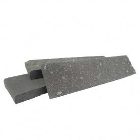 Плитка фасадная гиперпрессованная РуБелЭко М200 F100 250х20х65 мм графит (ПУ6)