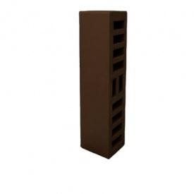 Облицовочный кирпич половинка ЛИКС М250 F100 250x60x65 мм коричневый