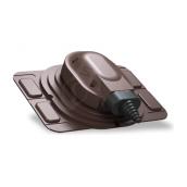 Проходной элемент Wirplast Uniwersal S25 коричневый RAL 8017