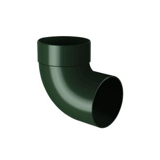 Отвод одномуфтовый Rainway 87 градусов 100 мм зеленый