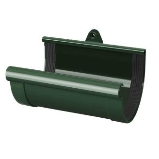 Муфта желоба Rainway 90 мм зеленая