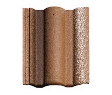 Цементно-песчаная черепица BRAAS Адрия Slury 420х330 мм коричневый