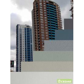 Монтаж фиброцементной плиты Cedar 1200х3000 мм серый
