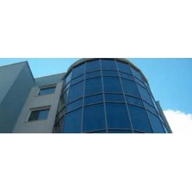 Алюмінієві скляні фасади Алютех