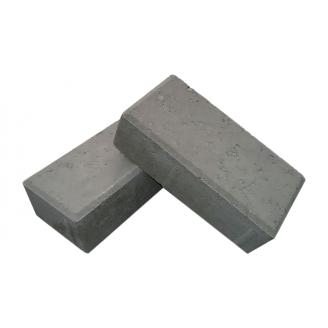 Тротуарная плитка ЕКО Кирпичик 200х100х25 мм серый