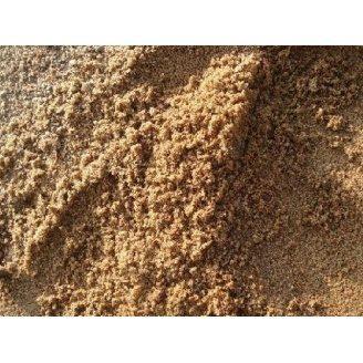 Песок овражный навалом