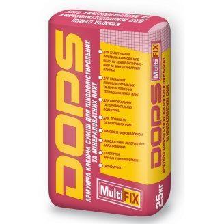 Армирующая клеевая смесь Dops MultiFix 25 кг