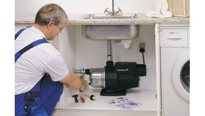 Как установить насос для воды