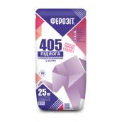 Смесь самовыравнивающая ФЕРОЗИТ 405 25 кг