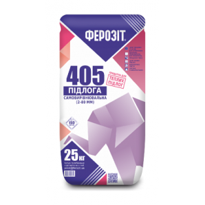 Суміш самовирівнююча ФЕРОЗІТ 405 25 кг