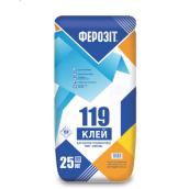 Клеевая смесь Ферозит 119 для теплоизоции 25 кг