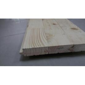 Дошка для підлоги смерека чорнова 75х30х3000 мм