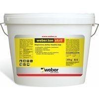 Фасадная акриловая краска weber.ton akril 1,67 кг/дм3 8 кг white base