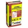 Клей для армування Weber therm S80 для монтажу та захисту фасадних плит 25 кг сірий