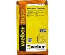 Раствор weber ZK557 для расшивки швов в кладке 10-20 мм 4 кг/м2 25 кг графит (color F12)