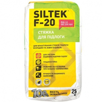 Стяжка для пола SILTEK F-20 25 кг