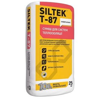 Смесь для систем теплоизоляции SILTEK Т-87 25 кг
