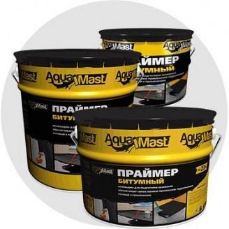 Праймер бітумний огрунтовка AquaMast відро 10 л