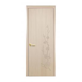 Дверное полотно Новый Стиль КОЛОРИ Сакура 800х2000 мм ясень